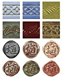 AMACO High-Fire Glaze Packs, Autumn Colors, Set of 12