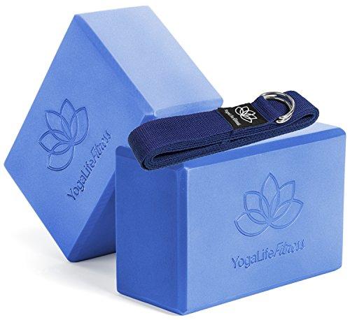Yoga Life Fitness (Set of 2) Premium Yoga Blocks 9