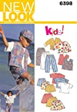 New Look Sewing Pattern 6398 Size A (2-3-4-5-6-7)