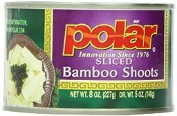 Polar Sliced Bamboo Shoots 8 Oz (Pack of 4)