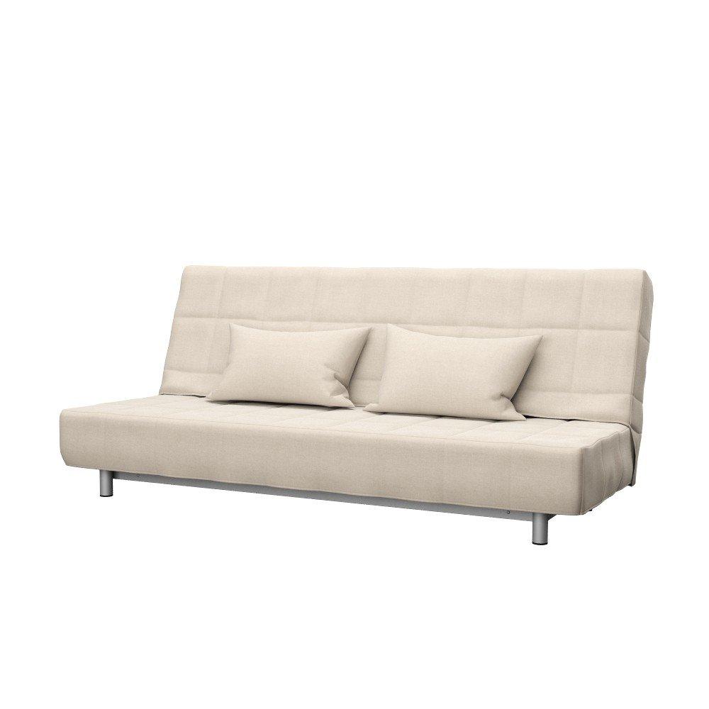 Soferia - Bezug fur IKEA BEDDINGE 3-er Bettsofa, Elegance Creme