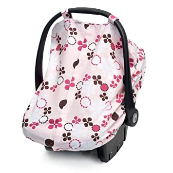 JJ Cole Car Seat Canopy Pink Blossom (Discontinued by Manufacturer)  sc 1 st  Amazon.com & Amazon.com: JJ Cole Car Seat Canopy Pink Blossom (Discontinued by ...