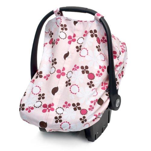Amazon.com: JJ Cole Asiento de coche Canopy, Pink Blossom ...