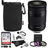 Tamron 18-400mm F/3.5-6.3 DI-II VC HLD All-In-One Zoom For Nikon APS-C Digital SLR Cameras, Sandisk 32GB, TruDigital Filter Kit, Ritz Gear Lens Pouch, Memory Card Reader and Accessory Bundle