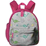 Yiins8 Dream Long Neck Dragon Warm Children Bag Bag Backpack Casual Bag Travel Bag Canvas Backpack Bag