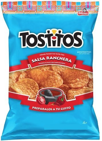 NEW Tostitos Salsa Ranchera Naturally Flavored Corn Tortilla Chips Limited edition - 7.62oz (1)