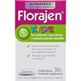 Florajen 4 Kids Probiotic Dietary Supplement | for Antibiotic Side Effects | 30 Capsules | Packaging May Vary