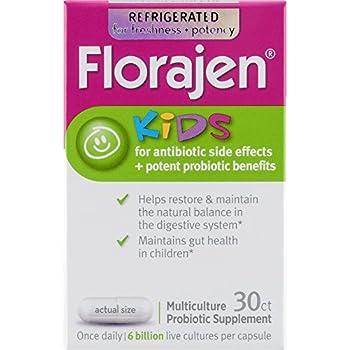 Amazon Com Florajen Kids Probiotic Dietary Supplement