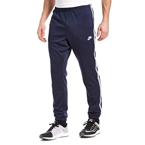 a1ddcef282324 Nike Tribute Track Pants Uomo Pantalone Pantaloni Sportivi Navy Grigio