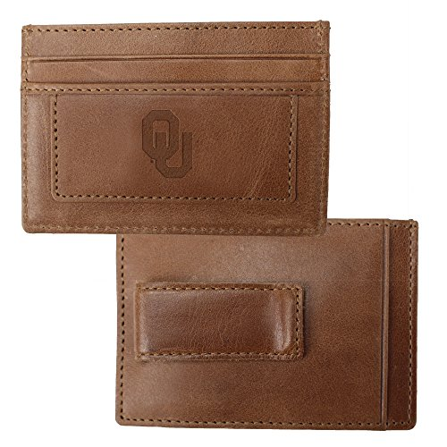 University of Oklahoma Credit Card Holder & Money Clip (Credit Card Logo Oklahoma)