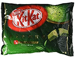 Nestle, KitKat Maccha Green Tea Flavor 4.9oz Japan Import