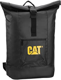 Caterpillar Arches Rolltop Backpack, Black
