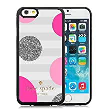 iPhone 6 Case,Kate Spade 56 Black For iPhone 6(4.7) Case