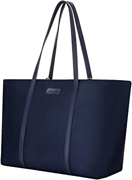 Womens Stylish Tote Bag Handbag Navy Waterproof Canvas Primary Schoolbag Art Bag Small File Handbag Tutorial Bag Tote Bag