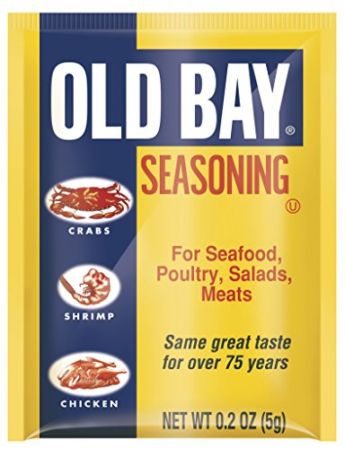 Old Bay Seasoning Packets, 0.2 Ounce, Pack of 200