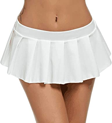 beautyjourney Minifalda de Talle bajo con Cintura Baja de Club de ...