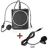 AKER MR 1700 Altavoz con auricular para hablar en público, batería 2000 mAh