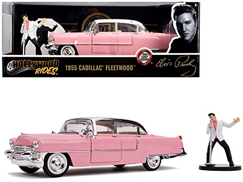 1955 Cadillac Fleetwood W/Elvis Figure
