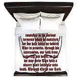 CafePress - St George Shield - King Duvet Cover, Printed Comforter Cover, Unique Bedding, Microfiber