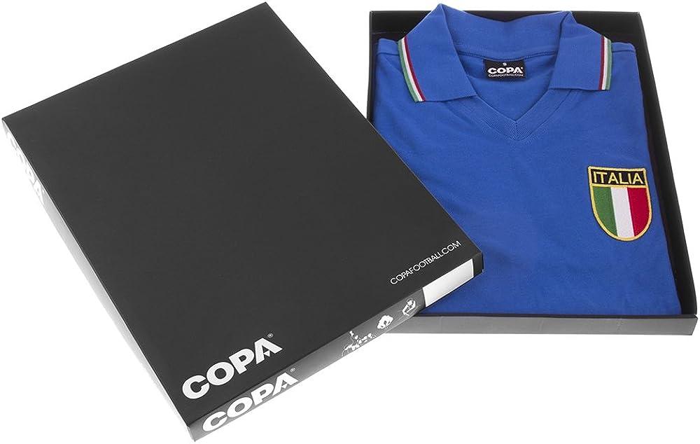 Kurzarm COPA Italien Ausw/ärtstrikot WM 1982