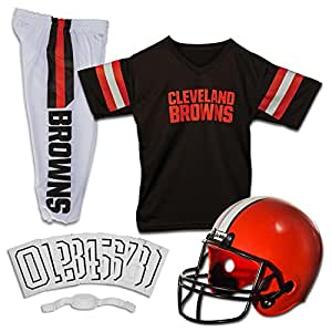 innovative design a50bd 42421 cleveland browns 32 jim brown brown long sleeved throwback ...