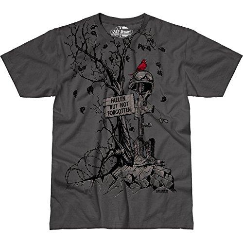 7.62 Design Fallen, But Not Forgotten' Men's Jumbo Print T-Shirt XL (Print Design T-shirt 7.62)
