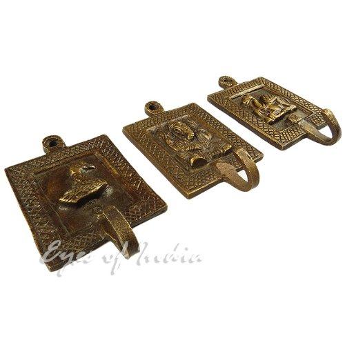 Eyes of India Brass Animal Coat Key Hanger Wall Hooks