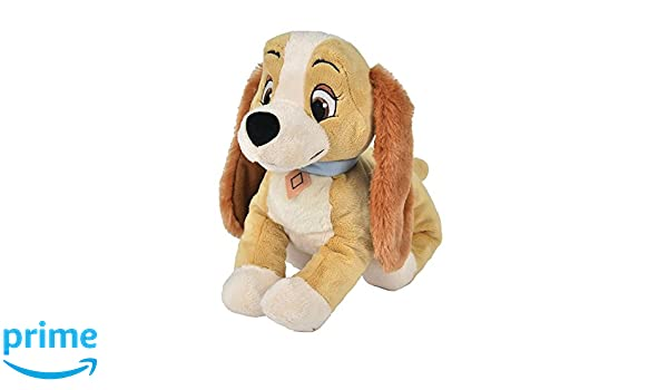 Disney Peluche Animal Friends Lady Dal Film Lilly y El Vagabundo 37 cm: Amazon.es: Juguetes y juegos
