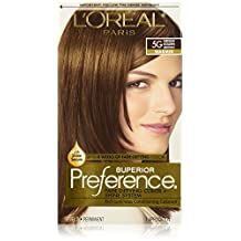 Superior Preference Fade-Defying Color # 5G Medium Golden Brown - Warmer by L'Oreal Paris for Unisex - 1 Application Hair Color