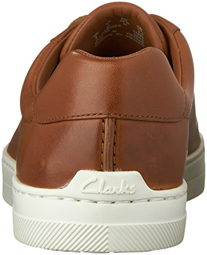 Clarks Mens Ballof Up Mode Sneakers Tan