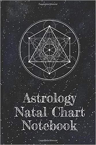 Astrology Natal Chart Notebook Organizer For Blank Star Birth