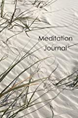 Meditation Journal: Sand Diary