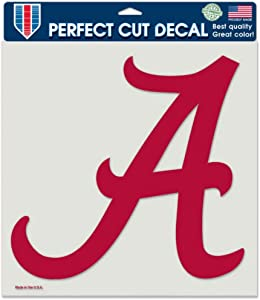 Alabama Crimson Tide 8x8 Die Cut Full Color Decal Made in the USA 8x8