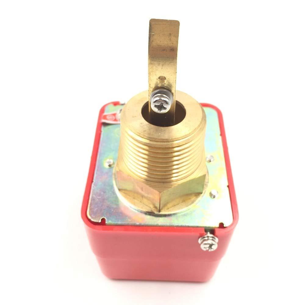 Utini Water Flow Switch HFS-25 Target Type Flow Switch LKB-01 Flow Switch Flow Meter 1 inch Target Sensor