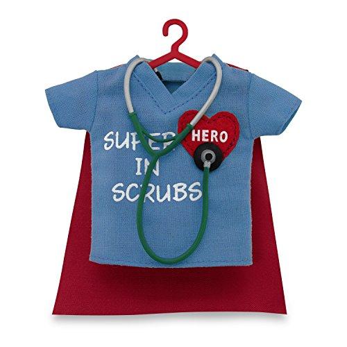 Hallmark Keepsake 2017 Healthcare Superhero in Scrubs Dated Christmas (Superhero Decorations Ideas)