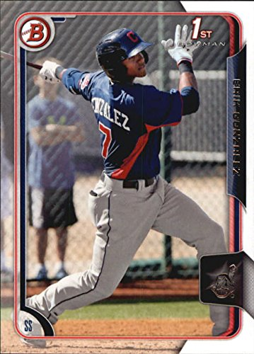 2015 Bowman Prospects #BP48 Erik Gonzalez - NM