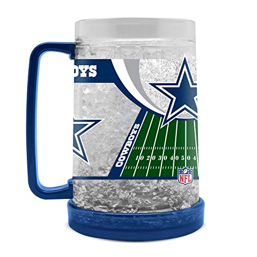 NFL Dallas Cowboys 16oz Crystal Freezer Mug -