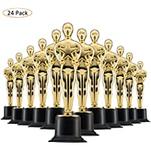 """6"""" Gold Award Trophys for Award Ceremony's or Party (24 Pack)"""