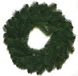 Good Tidings 24-Inch Artificial Pine and Mixed Greens Christmas Wreath