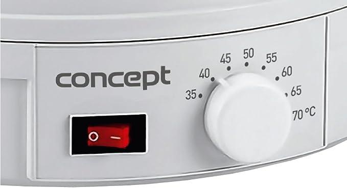 CONCEPT /électrom/énager SO1025 D/éshydrateur Vert//Blanc 245 W
