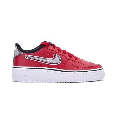 806d9467 Nike Herren Air Force 1 Lv8 Sport (Gs) Fitnessschuhe, rot: Amazon.de ...