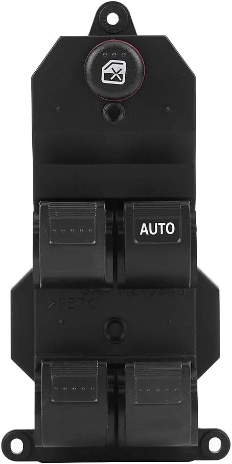 Window Switch RHD Right Hand Driver Side Power Master Window Switch Compatible With Honda Civic 2001-2005 35760-S9A-G042