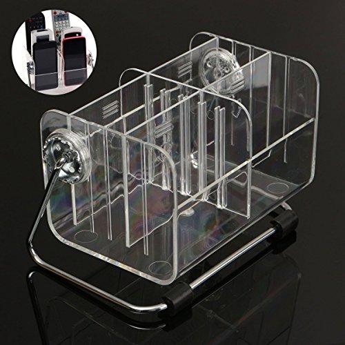 i-gadgets Acrylic Multipurpose Organizer, 16x11x10cm, Clear