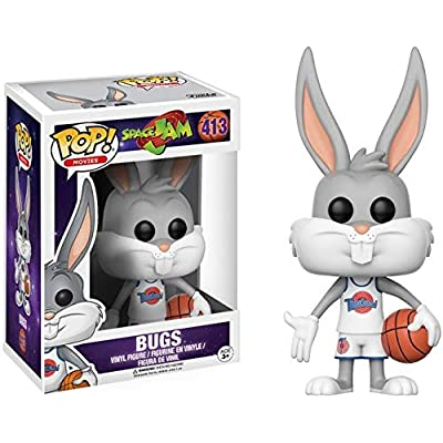 Funko POP Movies Space Jam Bugs Action Figure: Funko Pop! Movies:: Toys & Games