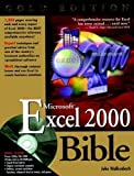 img - for Microsoft Excel 2000 Bible book / textbook / text book