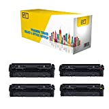 Compatible Canon 045H Toner Cartridge Set High Yield for Canon ImageCLASS LBP611Cn, LBP612cdw, MF632Cdw, MF634Cdw (0461C001CTA, 0459C001CTA 0457C001CTA, 0455C001CTA) - 4-Pack Black Cyan Magenta Yellow