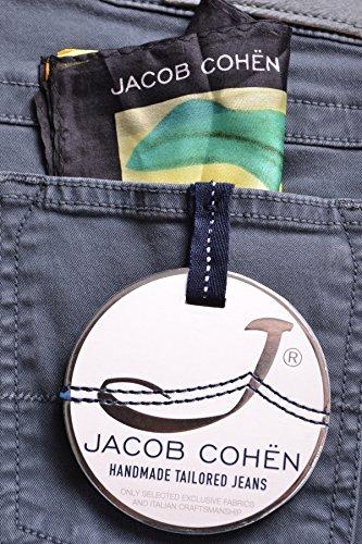 Jacob Cohen Mujer MCBI160020O Gris Algodon Pantalón