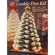 1994 Wilton Cookie Tree Kit With Ten Star Cookie Cutters - 2104-1501