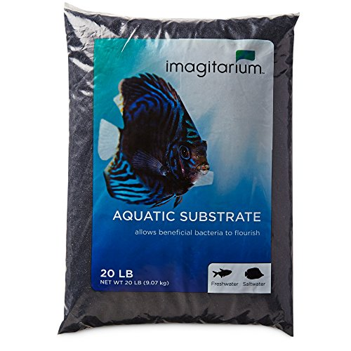 Imagitarium Black Aquarium Sand, 20 LBS by Imagitarium