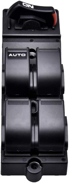 TOHUU 83593-S04-9500 Master Power Window Switch for Honda Civic CX EX HX LX Si 4 Door 1996-2000